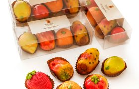 frutta martorana marzapane sicilia scatola marzipan fruit sicily gift box
