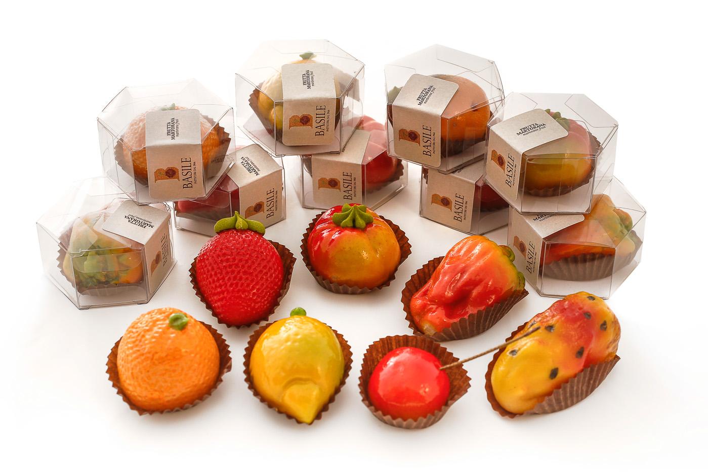 Frutta martorana singola marzapane dolci siciliani for Frutta online